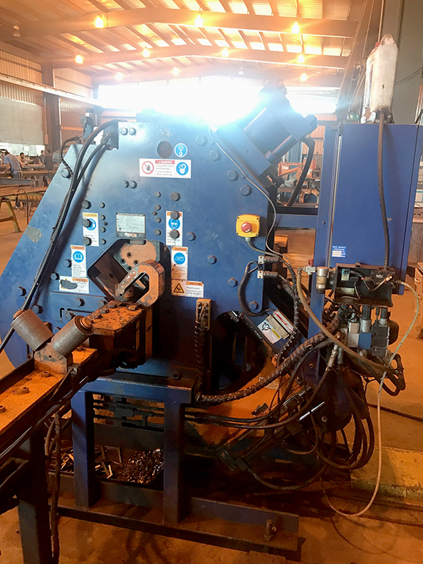 used clipper cnc angle line