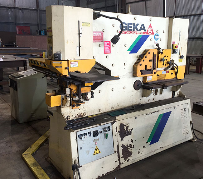 used geka 110 DS semipaxy