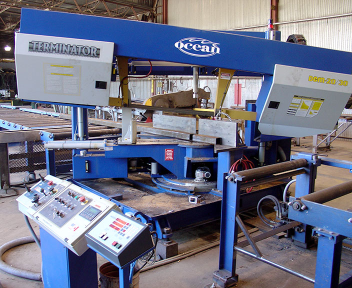 used ocean terminator 2030 band saw